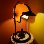 Lampe casque FF Leuchten jaune
