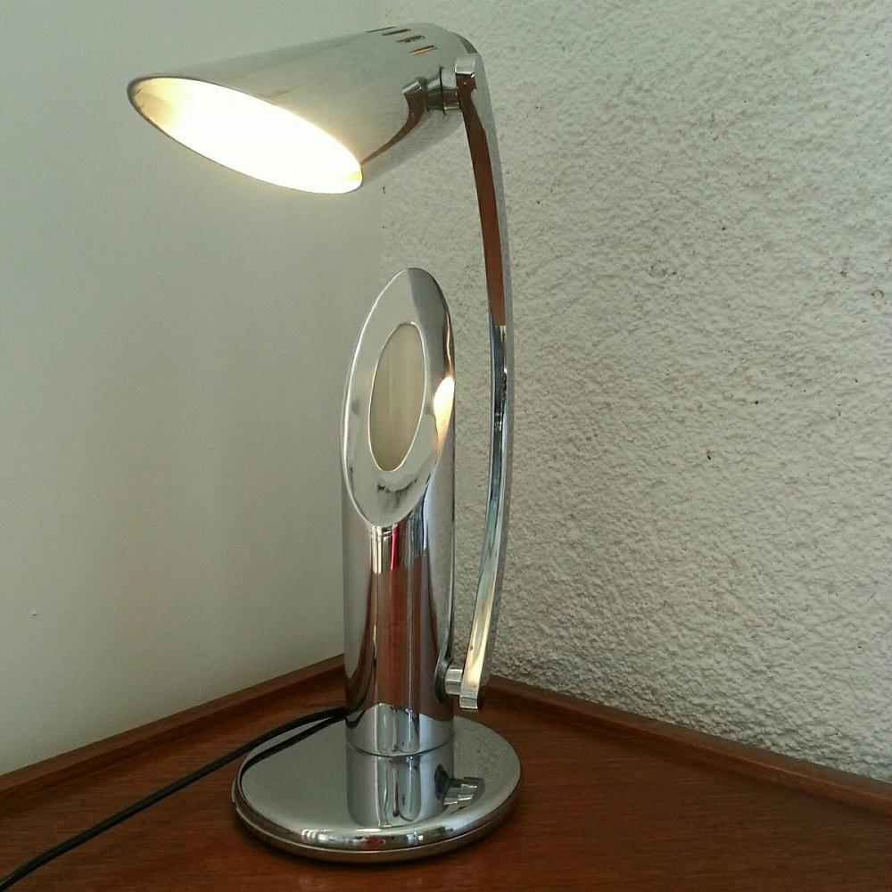 Lampe Fase Tharsis chromée