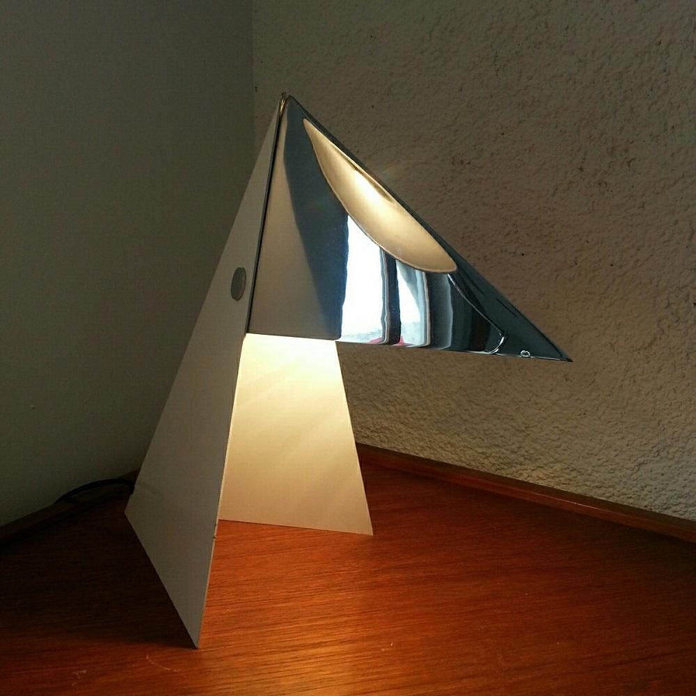 Lampe Perroquet à bec chromé