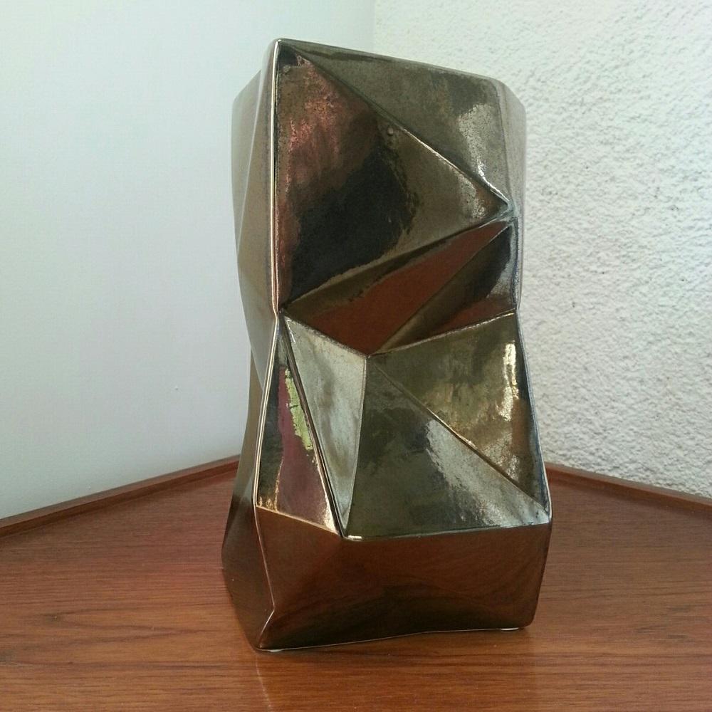vase céramique origami  (1)
