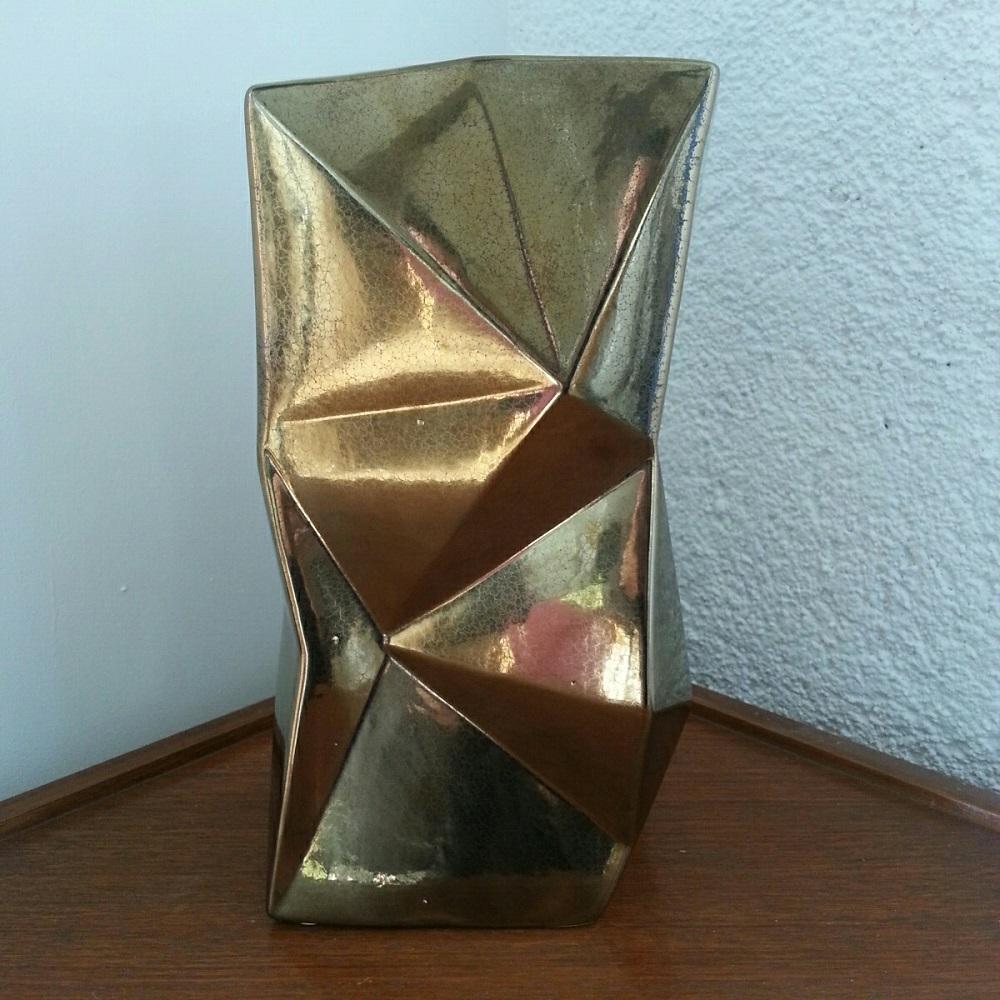 Vase Origami en Céramique