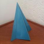 Applique UFO triangulaire hallogène