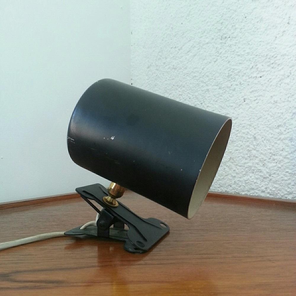 lampe lamp spot pince rotule vintage 60 (1)