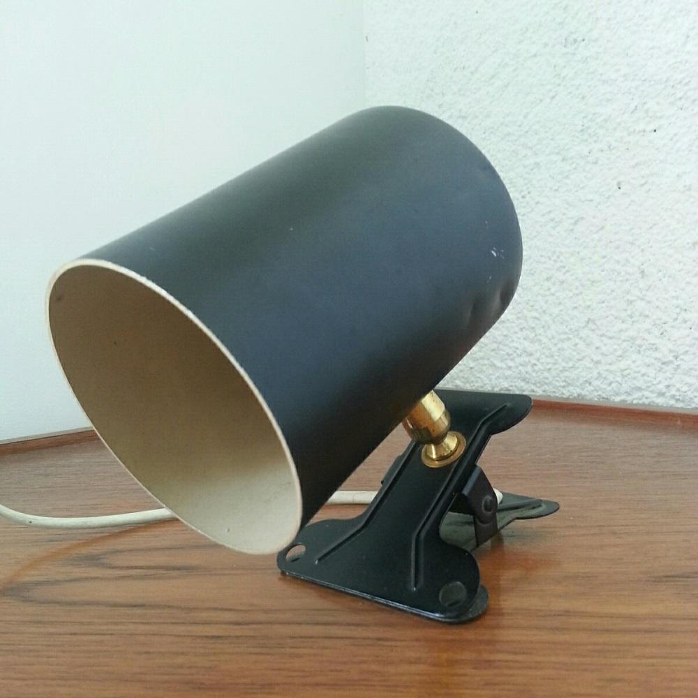 lampe lamp spot pince rotule vintage 60 (2)
