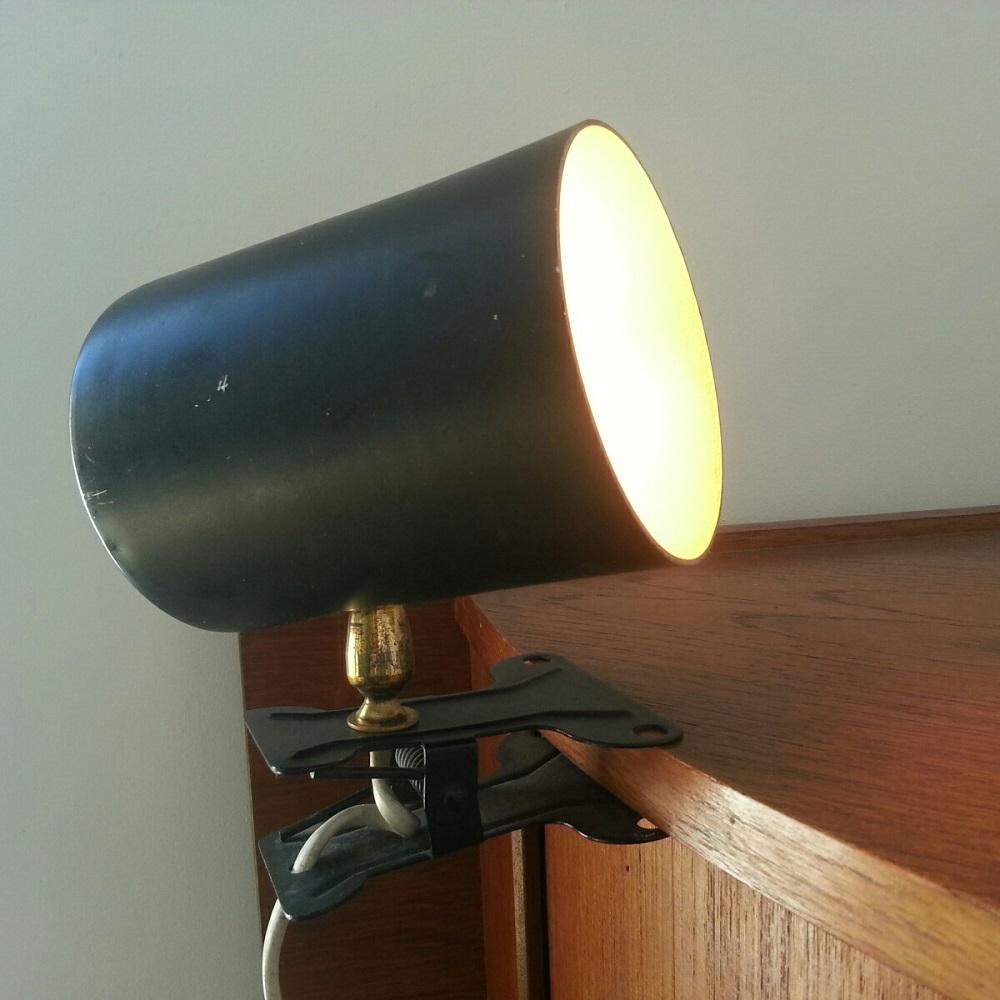 lampe lamp spot pince rotule vintage 60 (5)