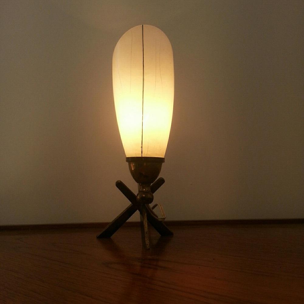 lampe tripode lation lamp 60 vintage croix (6)