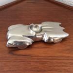 Cendrier Batmobile en bronze argenté