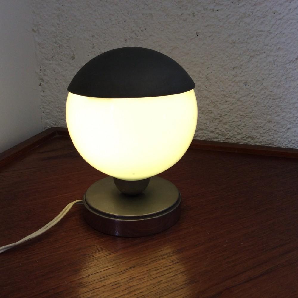 lampe turquoise à chapeau (4)