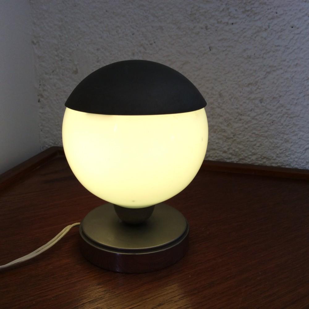 lampe turquoise à chapeau (7)