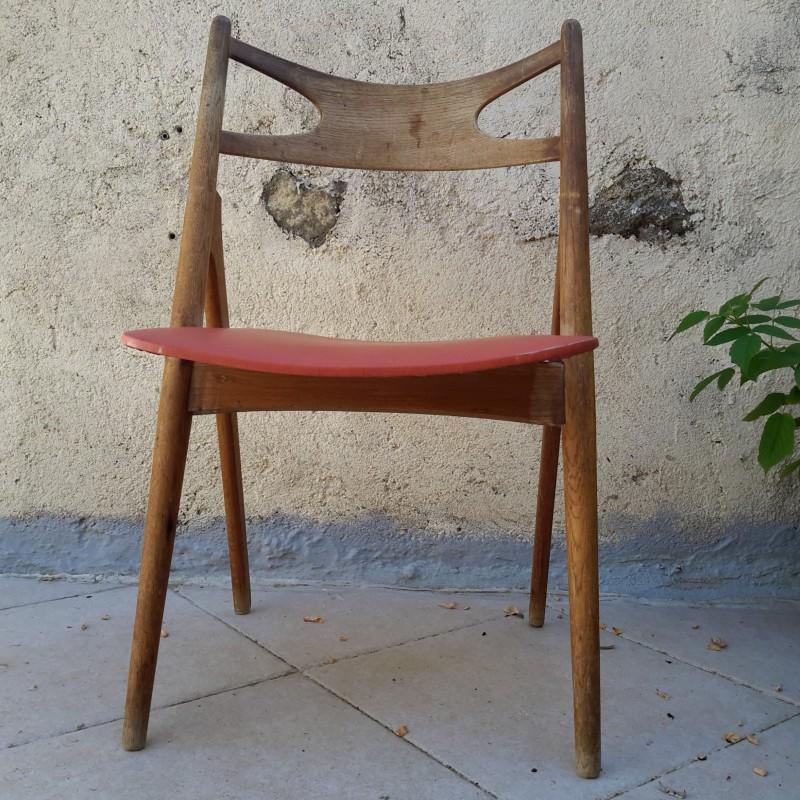 chaise scandinave hans j wegner ch29 lampodrome. Black Bedroom Furniture Sets. Home Design Ideas