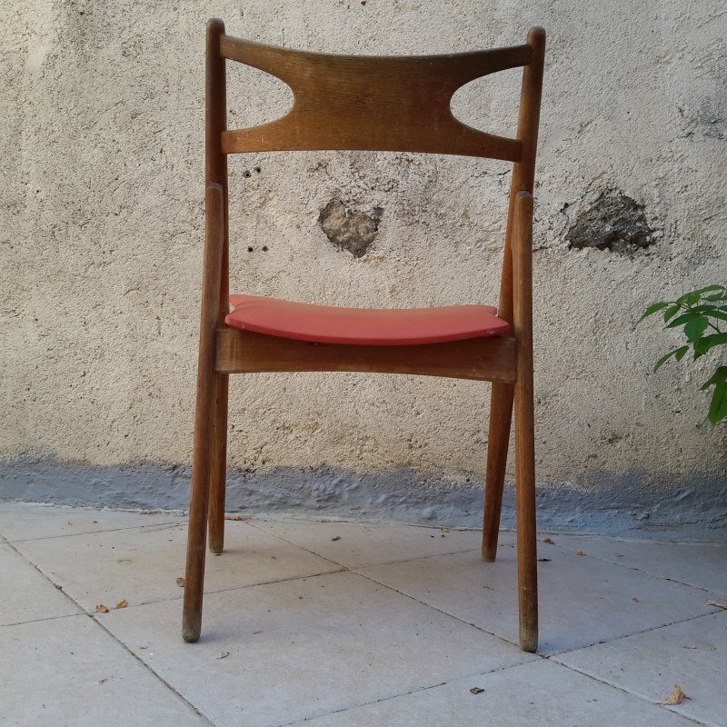 chaise-scandinave-hans-j-wegner