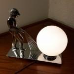 Lampe pompier Art Déco moderniste
