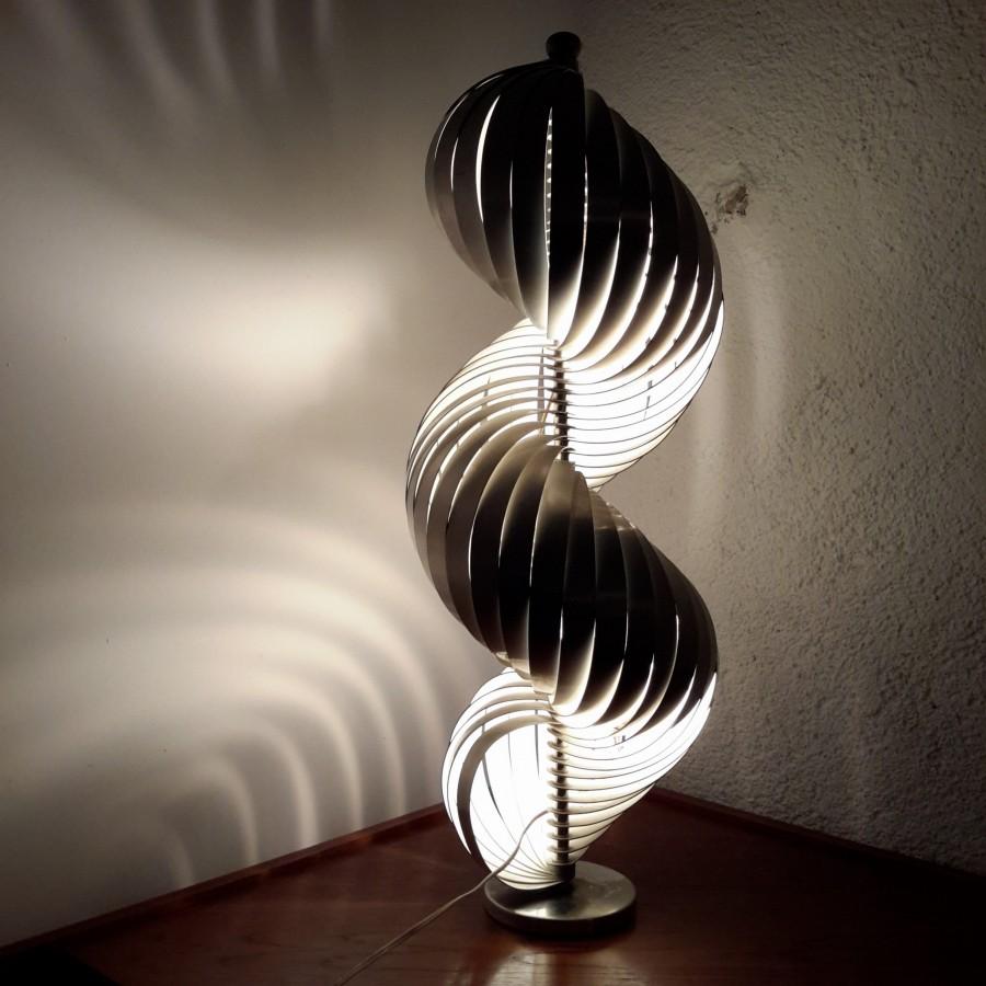 Lampe spirale Henri Mathieu