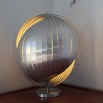 Grosse lampe boule Henri Mathieu
