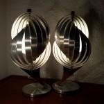 Lampe Henri Mathieu hélicoïdale en paire