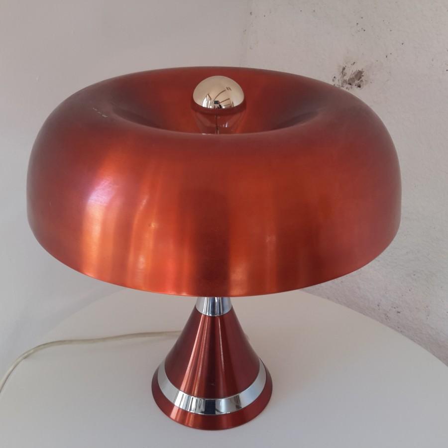 grande lampe 70 champignon cuivrée (2)