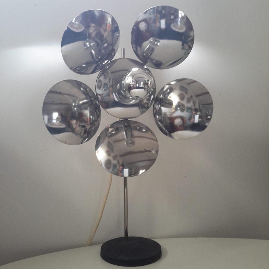 lampe-fleur-chromee-reggiani-1