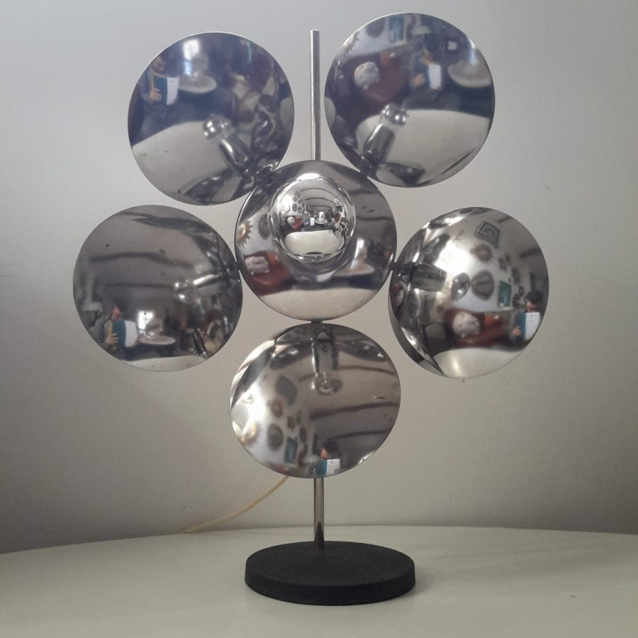 lampe-fleur-chromee-reggiani-2