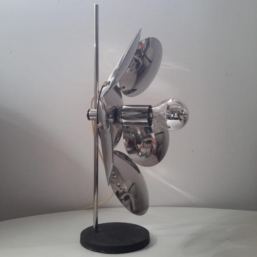 lampe-fleur-chromee-reggiani-3