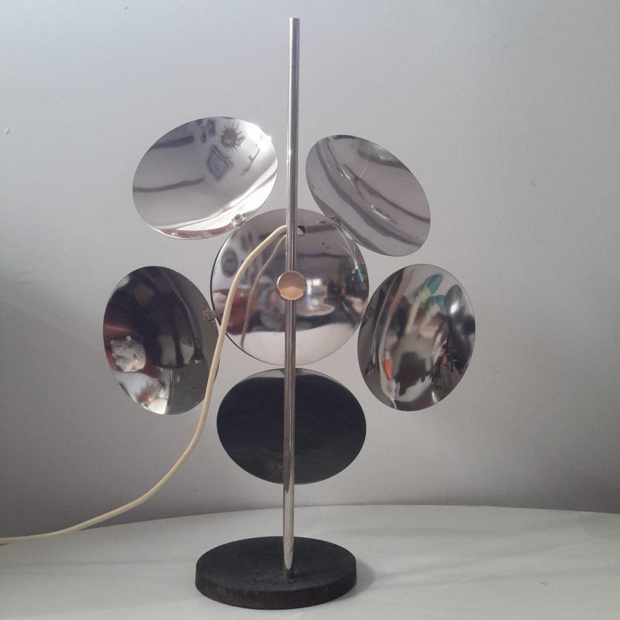 lampe-fleur-chromee-reggiani-4