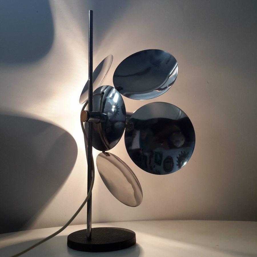 lampe-fleur-chromee-reggiani-9
