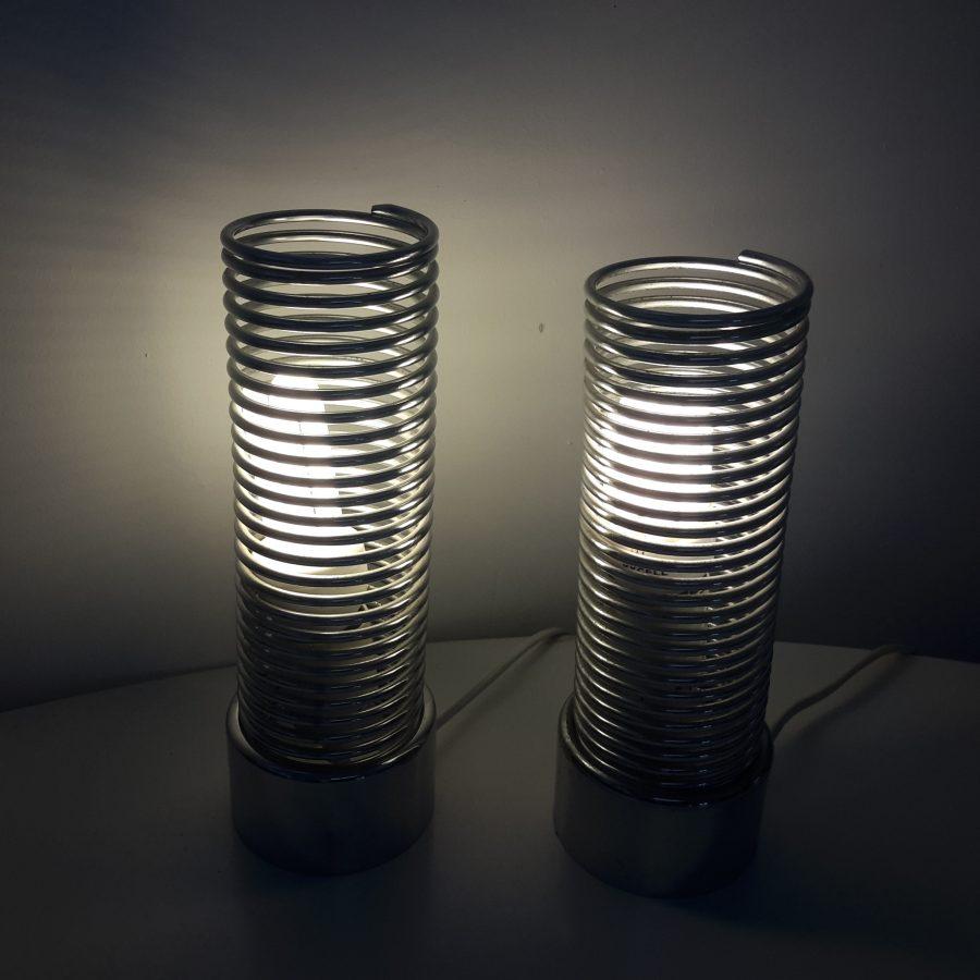 Paire de lampes ressort Iguzzini