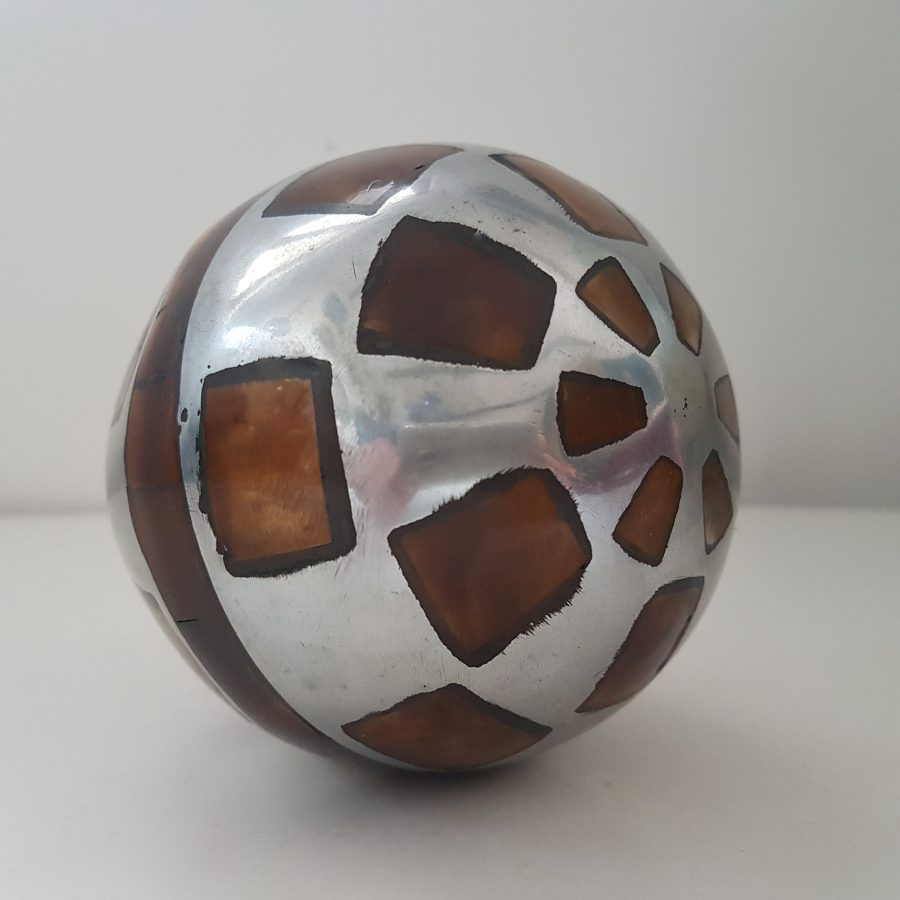 boule d'aluminium à incrustation d'os (4)