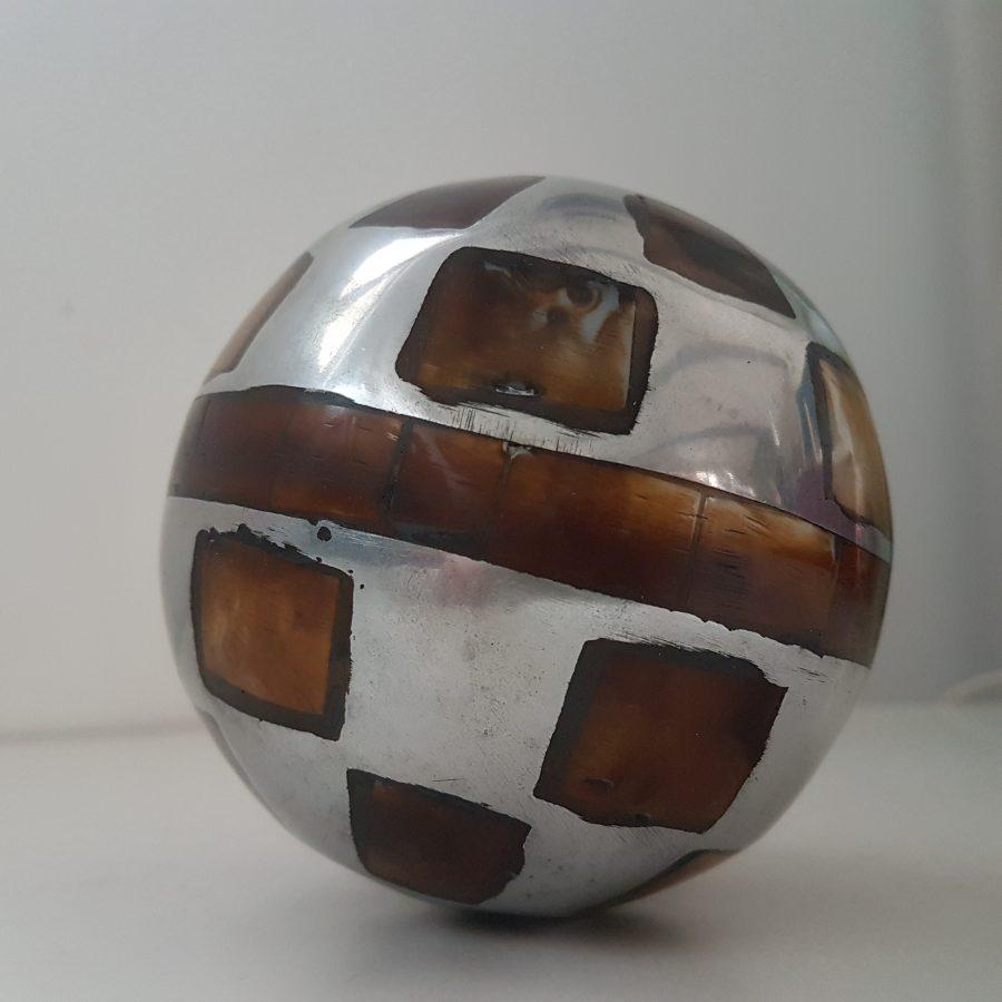 boule d'aluminium à incrustation d'os (6)
