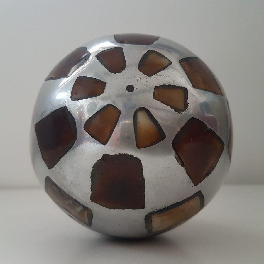 boule d'aluminium à incrustation d'os (7)