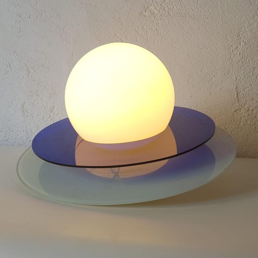 Lampe culbuto saturne