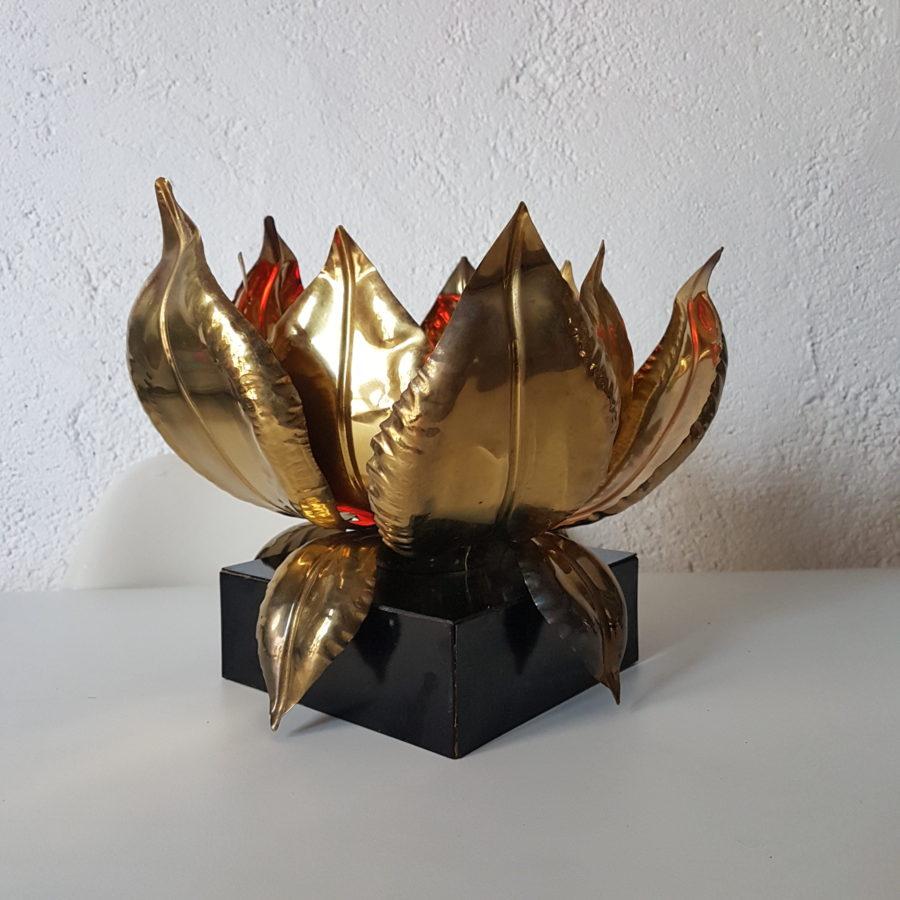 lampe lotus maison jansen (2)