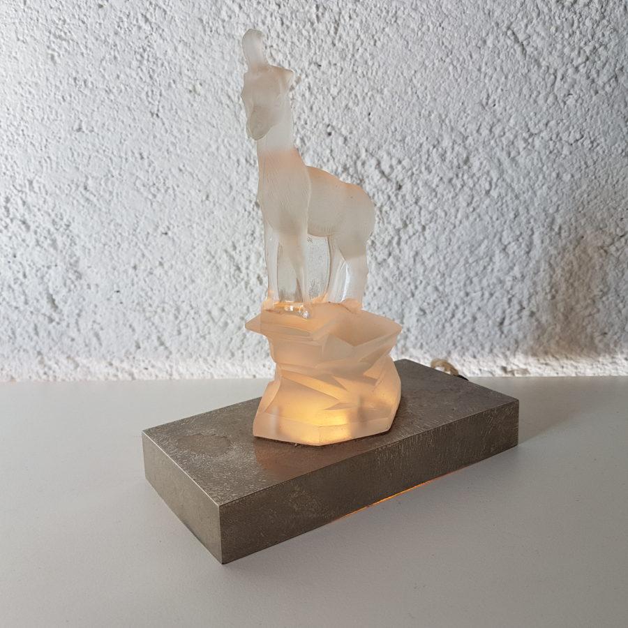 lampe chamois verre moulé (3)
