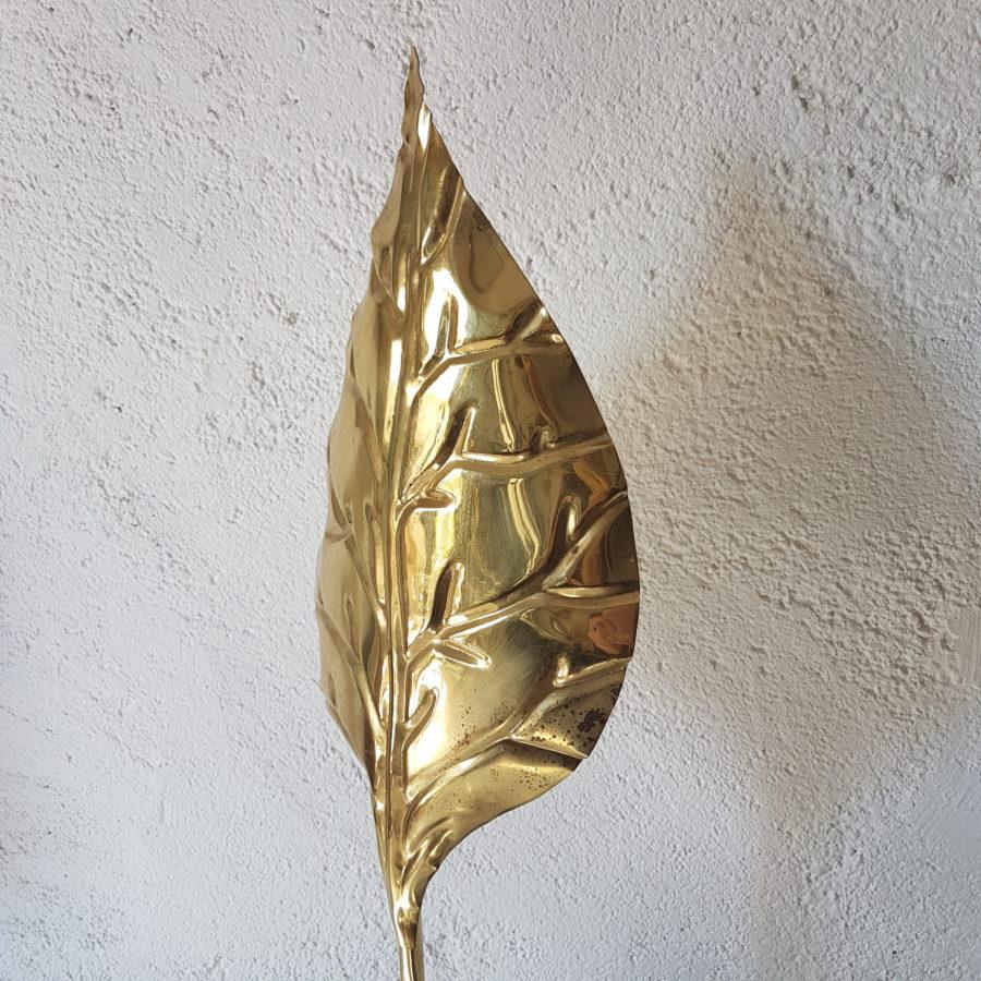 lampe feuille dorée (1)