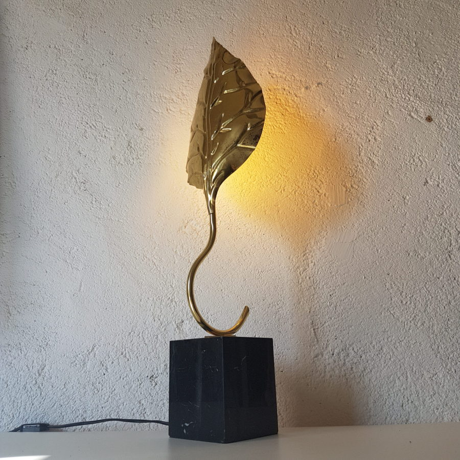 lampe feuille dorée (11)