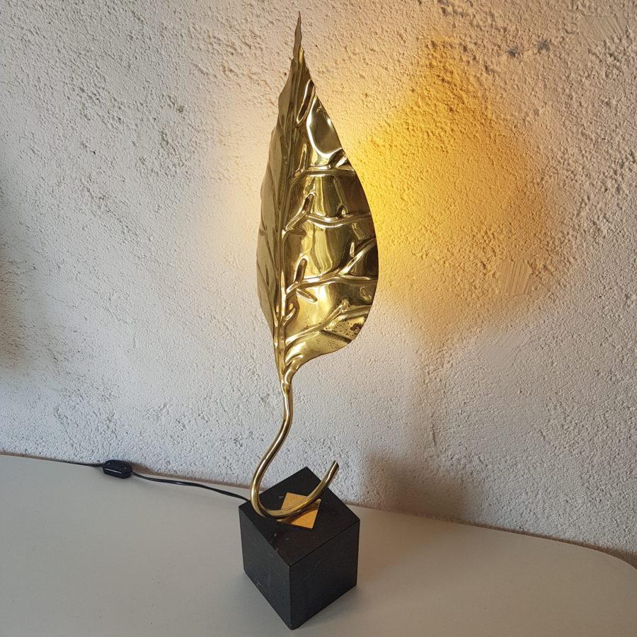 lampe feuille dorée (12)