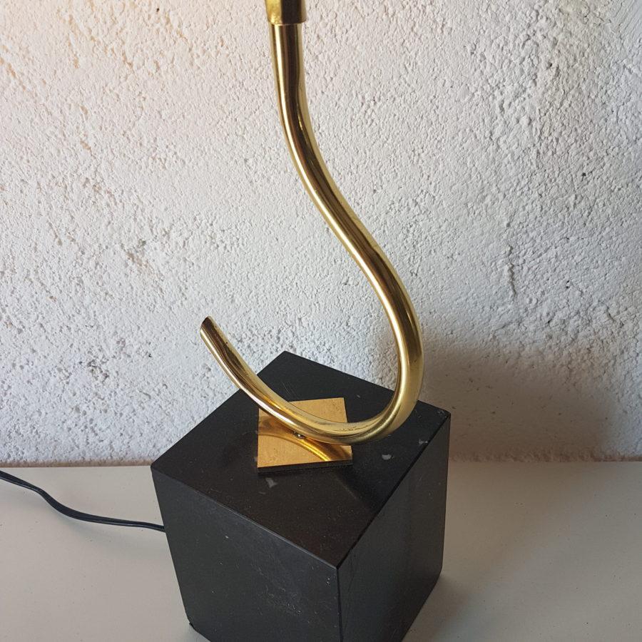 lampe feuille dorée (8)