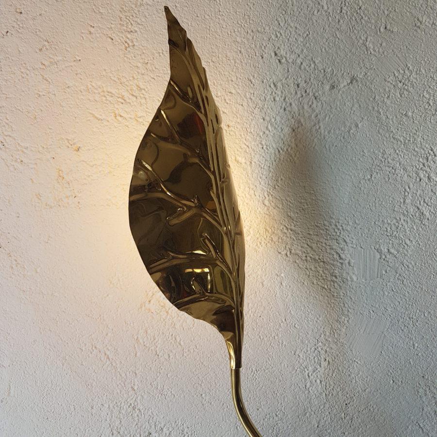 lampe feuille dorée (9)
