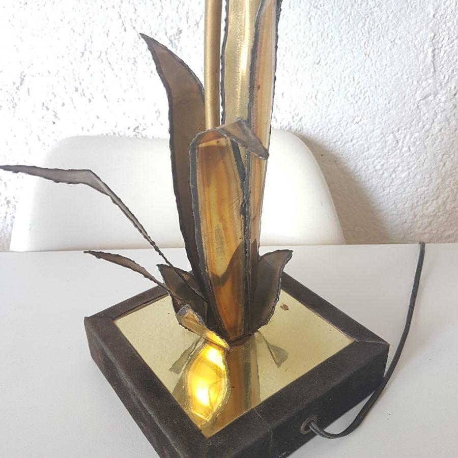 lampe fleur jonc (4)