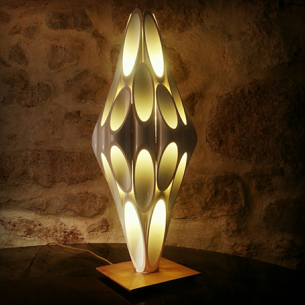 Lampe style Rougier