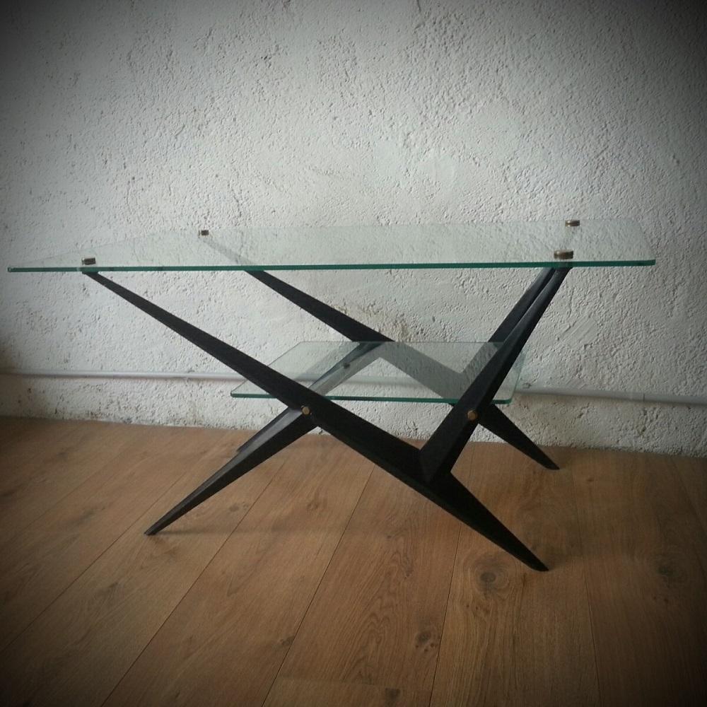Table basse Arlus à double plateaux