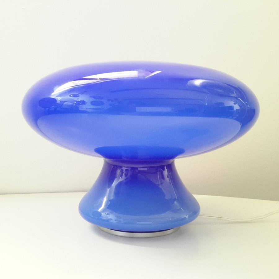 lampe-champignon-en-verre-soufflé