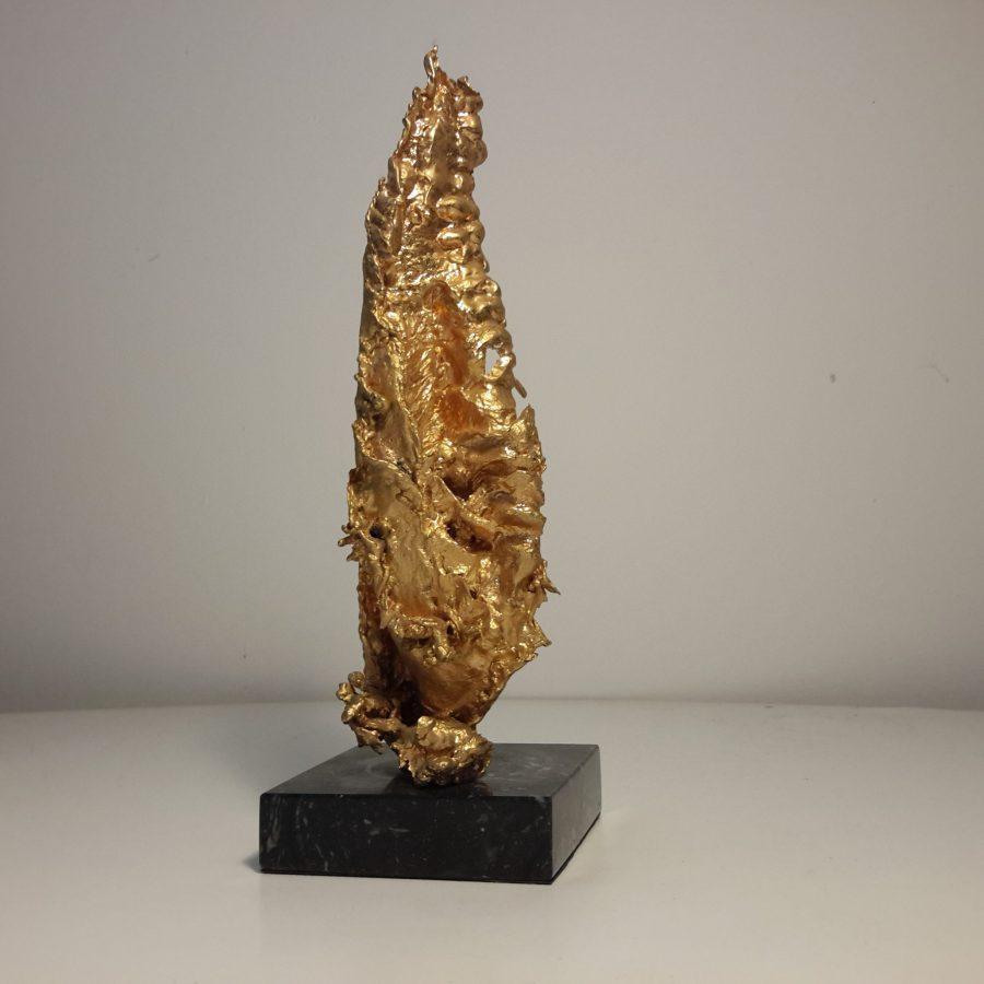 Sculpture bronze doré Claude Victor Boeltz