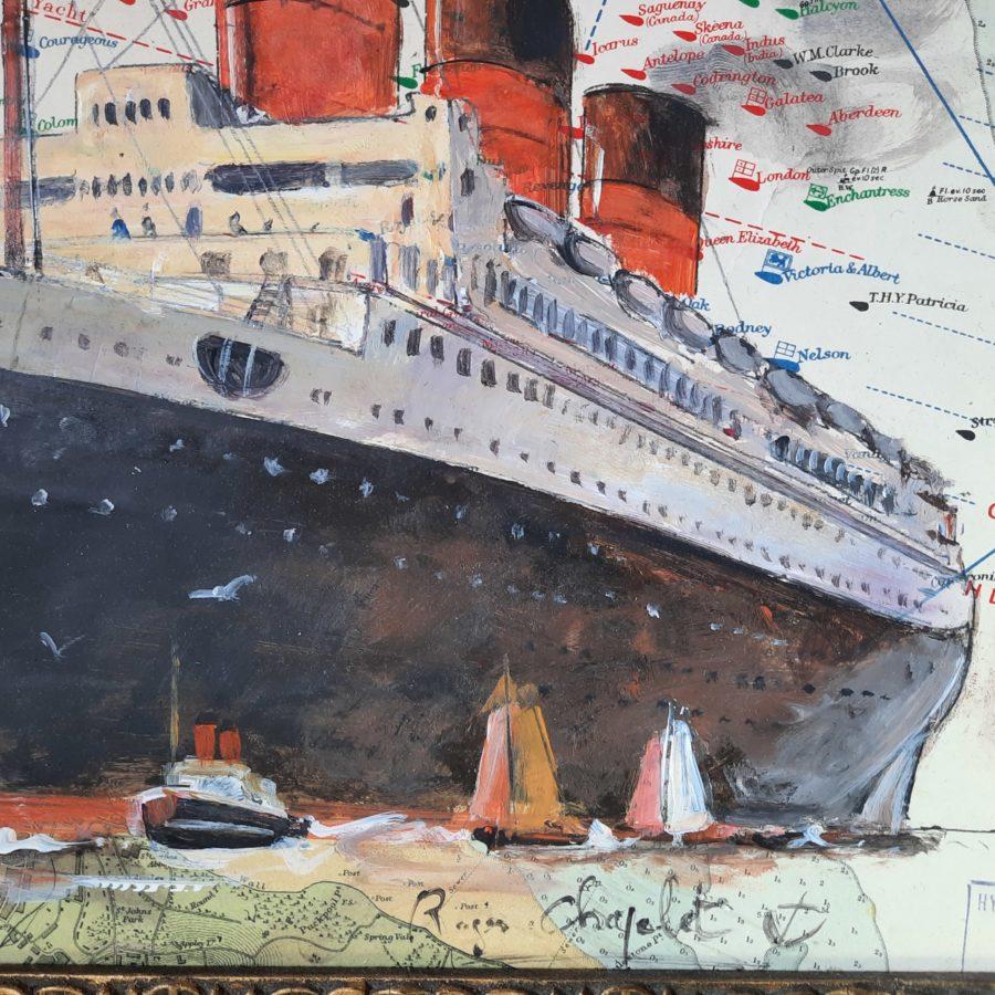 roger chapelet peinture compagnie générale transatlantique